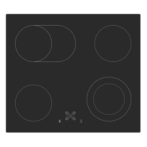 Варочная панель SIMFER H 60 D17 B011, электрическая, независимая, черный варочная панель simfer h45d13b011 электрическая независимая черный