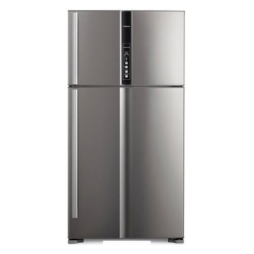 Холодильник HITACHI R-V 722 PU1X INX, двухкамерный, нержавеющая сталь двухкамерный холодильник hitachi r v 722 pu1 sls