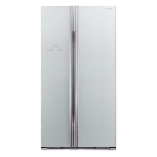 Холодильник HITACHI R-S 702 PU2 GS, двухкамерный, серебристый цена