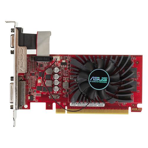 Видеокарта ASUS AMD Radeon R7 240, R7240-O4GD5-L, 4Гб, DDR5, Ret  - купить со скидкой