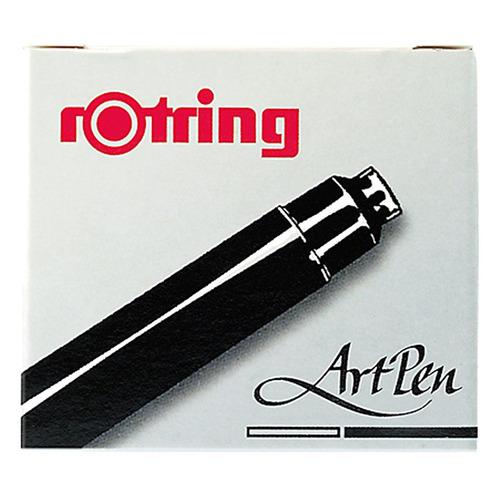цена на Картридж для перьевой ручки Rotring Artpen S0194751 черн.:черные (упак.:6шт) 12 шт./кор.