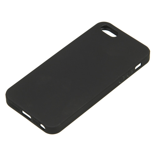 Чехол (клип-кейс) DEPPA Anycase, для Apple iPhone 5/5s/SE, черный [140019]