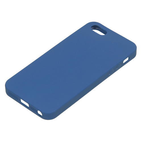 Чехол (клип-кейс) DEPPA Anycase, для Apple iPhone 5/5s/SE, синий [140020] все цены