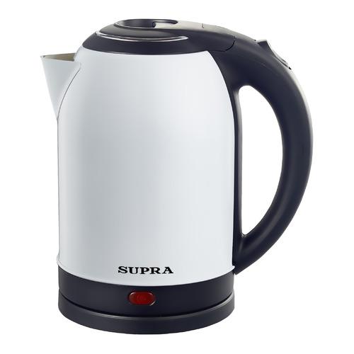 Фото - Чайник электрический SUPRA KES-2003N, 1500Вт, белый чайник электрический supra kes 1893 1500вт белый