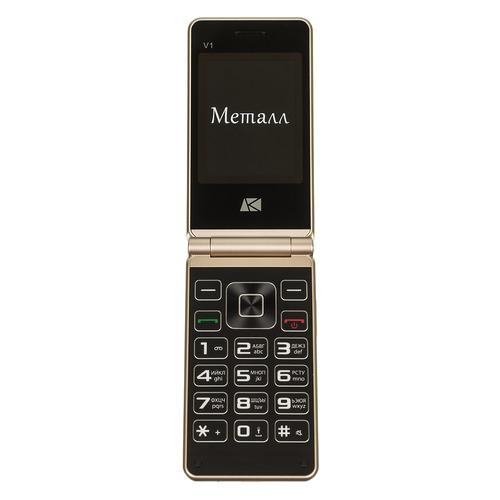 цена на Мобильный телефон ARK V1 золотистый