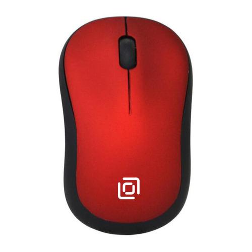 Мышь OKLICK 655MW, оптическая, беспроводная, USB, черный и красный все цены