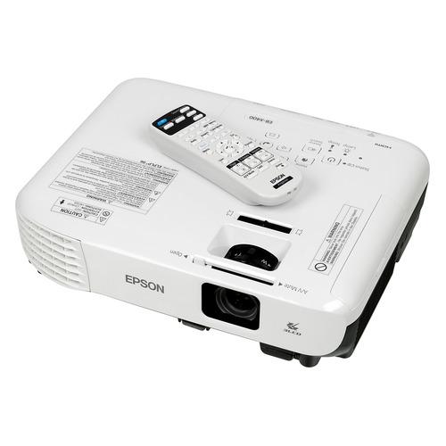 Фото - Проектор EPSON EB-X400, белый [v11h839140] кеды мужские vans ua sk8 mid цвет белый va3wm3vp3 размер 9 5 43