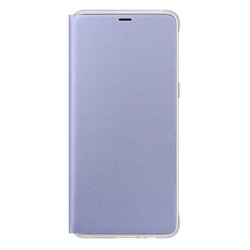 Чехол (флип-кейс) SAMSUNG Neon Flip Cover, для Samsung Galaxy A8+, фиолетовый [ef-fa730pvegru] цена и фото