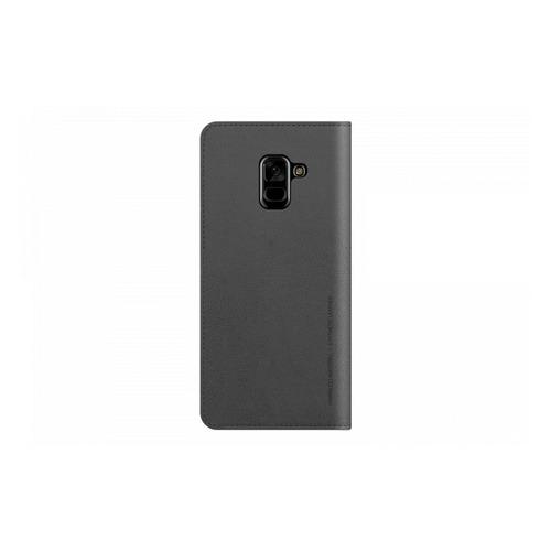Чехол (флип-кейс) SAMSUNG Designed Mustang Diary, для Samsung Galaxy A8+, серый [gp-a730kdcfaib] чехол флип кейс samsung для samsung galaxy a8 designed mustang diary красный gp a730kdcfaid