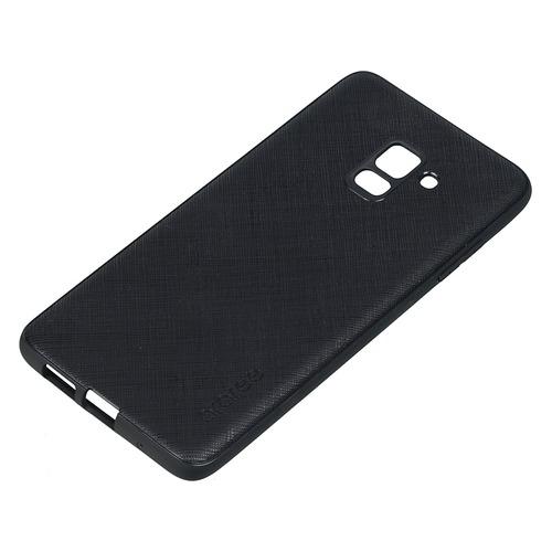 Чехол (клип-кейс) SAMSUNG araree Airfit Prime, для Samsung Galaxy A8+, черный [gp-a730kdcpbia]  - купить со скидкой