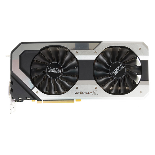 Видеокарта PALIT nVidia GeForce GTX 1070Ti , PA-GTX1070Ti Super Jetstream 8G, 8Гб, GDDR5, OC, Ret [ne5107tp15p2-1041j]