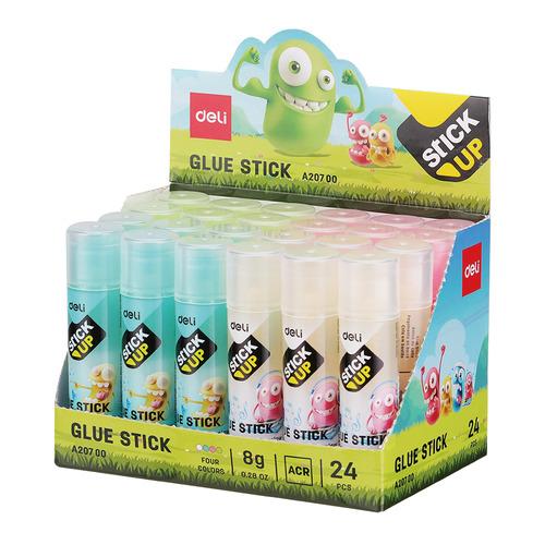 Клей-карандаш (упаковка) DELI EA20700 EA20700, 8грамм 24 шт./кор. недорого