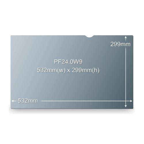 """Экран защиты информации 3M PF240W9B для монитора 24"""", 16:9, черный [7100011180]"""