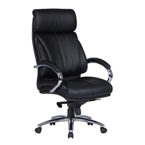 Кресло руководителя БЮРОКРАТ T-9904SL, на колесиках, искусственная кожа [t-9904sl/black] кресло руководителя бюрократ t 9910n black черный искусственная кожа пластик серебро