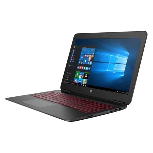 Ноутбук HP Omen 15-ax215ur, 15.6, Intel Core i7 7700HQ 2.8ГГц, 8Гб, 1000Гб, nVidia GeForce GTX 1050 - 4096 Мб, Windows 10, 2ER05EA, черный ноутбук asus rog gl553ve fy200t 15 6 intel core i7 7700hq 2 8ггц 12гб 1000гб 256гб ssd nvidia geforce gtx 1050 ti 4096 мб dvd rw windows 10 90nb0dx3 m02800 черный
