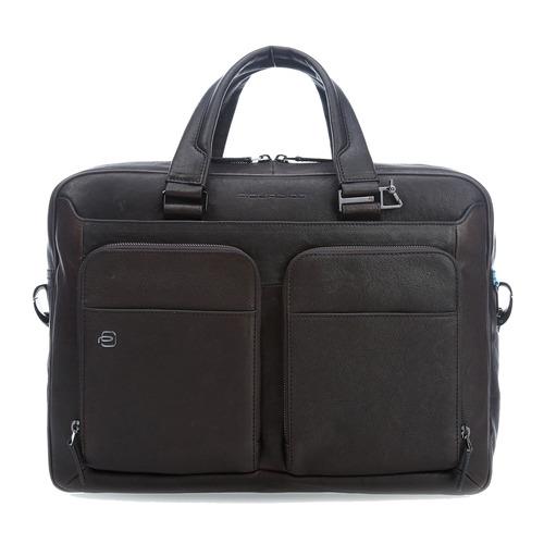 Фото - Сумка Piquadro Black Square CA2849B3/TM темно-коричневый рюкзак городской wenger urban contemporary с одним плечевым ремнем темно серый 19х12х33 см 8 л шт