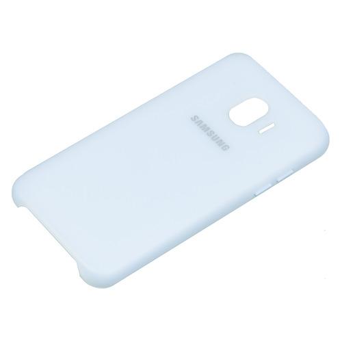 Чехол (клип-кейс) SAMSUNG Dual Layer Cove, для Samsung Galaxy J2 (2018), голубой [ef-pj250clegru] цена и фото
