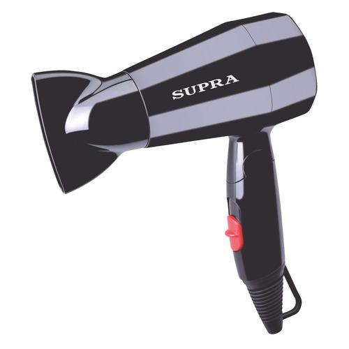 цена на Фен SUPRA PHS-1604M, 1600Вт, черный