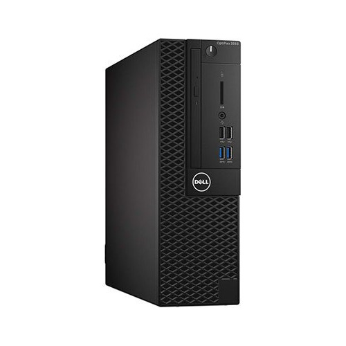 Компьютер DELL Optiplex 3050, Intel Core i5 6500, DDR4 4Гб, 500Гб, Intel HD Graphics 530, DVD-RW, Windows 10 Professional, черный [3050-6348]