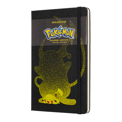 Блокнот Moleskine Limited Edition POKENON Large 130х210мм 240стр. линейка Pikachu цена