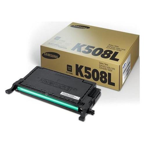 Картридж Samsung CLT-K508L, черный / SU191A