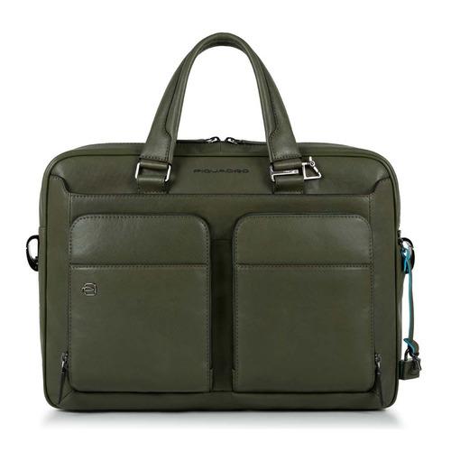 Сумка Piquadro Black Square CA2849B3/VE зеленый натур.кожа кожаные сумки piquadro ca2849b3 ve