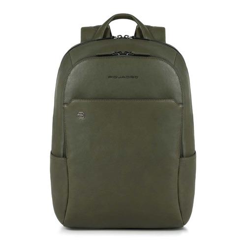Рюкзак унисекс Piquadro Black Square CA3214B3/VE зеленый натур.кожа рюкзак piquadro ca3214b3 зеленый