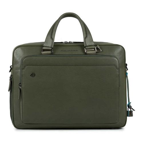 Сумка Piquadro Black Square CA4027B3/VE зеленый натур.кожа сумка piquadro ca4027b3 синий