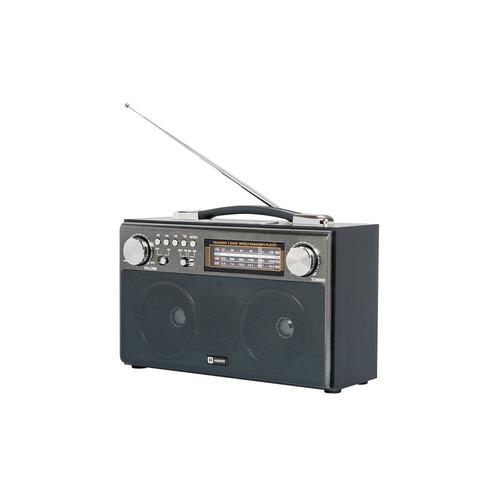 Радиоприемник HARPER HDRS-033, черный usb тв тюнер аналоговый