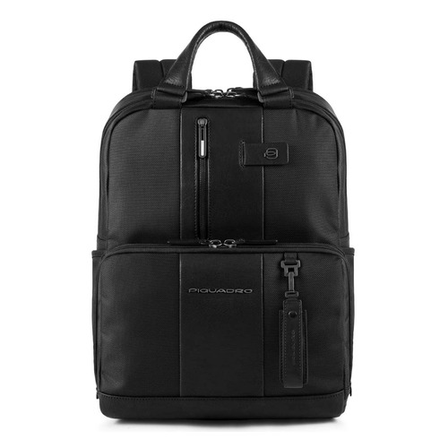 Рюкзак Piquadro Brief CA3975BR/N черный натур.кожа/ткань рюкзак унисекс piquadro pulse ca3869p15 n черный натур кожа