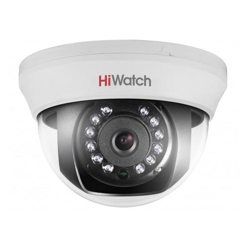 Камера видеонаблюдения HIKVISION HiWatch DS-T101, 720p, 6 мм, белый камера видеонаблюдения hikvision ds 2ce16h5t it3ze 2 8 12мм цветная