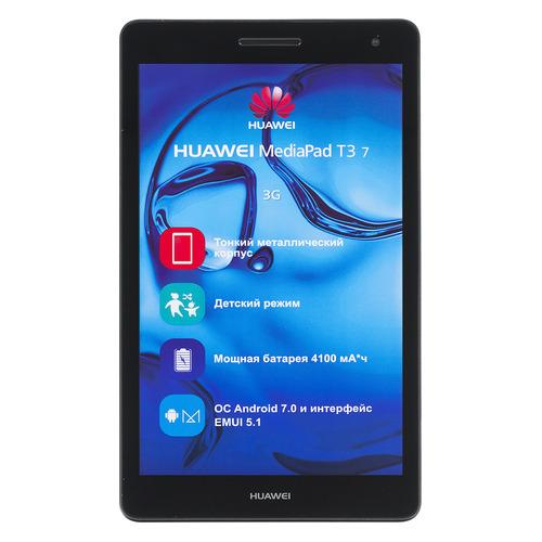 цена на Планшет HUAWEI MediaPad T3 7.0, 1GB, 16GB, 3G, Android 7.0 серый [53010adp]
