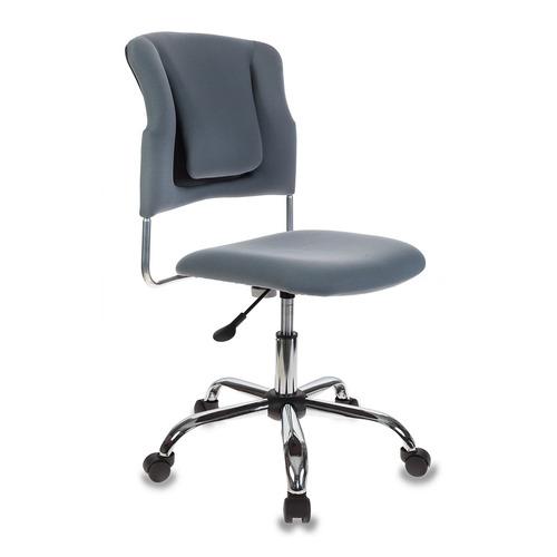Кресло БЮРОКРАТ CH-322SXN, на колесиках, ткань, серый [ch-322sxn/grey]