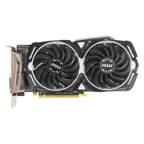 Видеокарта MSI AMD Radeon RX 570 , Radeon RX 570 ARMOR 8G OC, 8Гб, GDDR5, OC, Ret недорого
