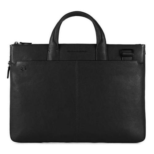 Сумка для ноутбука Piquadro Black Square CA4021B3/N черный натур.кожа сумка для ноутбука piquadro black square ca4021b3 n черный натур кожа