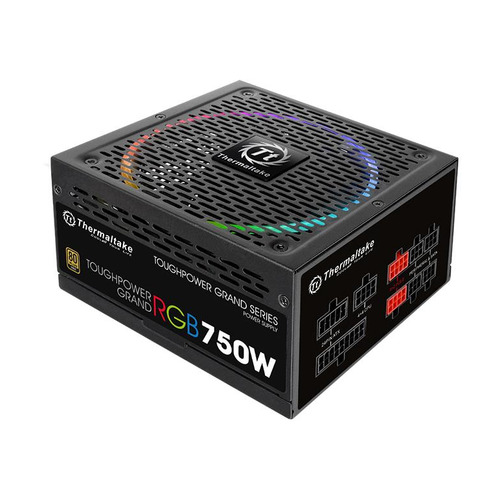 Блок питания THERMALTAKE Toughpower Grand RGB, 750Вт, 140мм, черный, retail [ps-tpg-0750fpcgeu-r] блок питания thermaltake toughpower grand rgb 750вт 140мм черный retail [ps tpg 0750fpcgeu r]