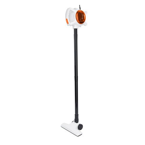 Фото - Ручной пылесос (handstick) KITFORT KT-526-3, 400Вт, оранжевый/белый ручной пылесос handstick kitfort кт 551 400вт серый фиолетовый