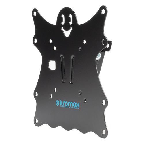 Фото - Кронштейн для телевизора Kromax Casper-201 черный 20-43 макс.30кг настенный наклон кеды мужские vans ua sk8 mid цвет белый va3wm3vp3 размер 9 5 43