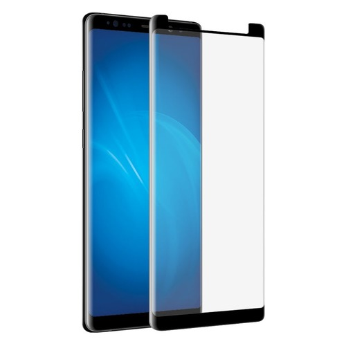 Защитное стекло для экрана DF sColor-34 для Samsung Galaxy S9, 3D, 1 шт, черный [df scolor-34 (black)]  - купить со скидкой