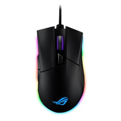 Мышь ASUS ROG Gladius II Origin, игровая, оптическая, проводная, USB, черный [90mp00u1-b0ua00] цена 2017