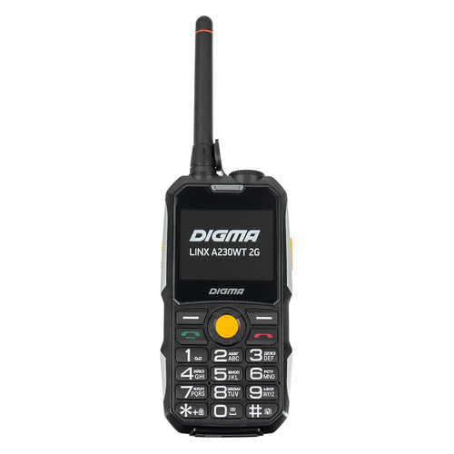 Мобильный телефон DIGMA Linx A230WT 2G, черный digma linx a230wt 2g черный