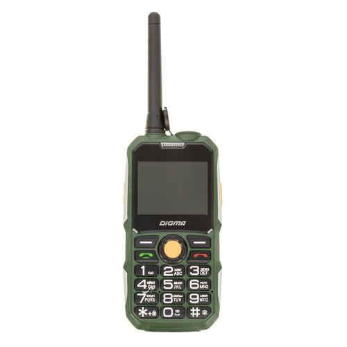 Мобильный телефон DIGMA Linx A230WT 2G, темно-зеленый digma linx a230wt 2g черный