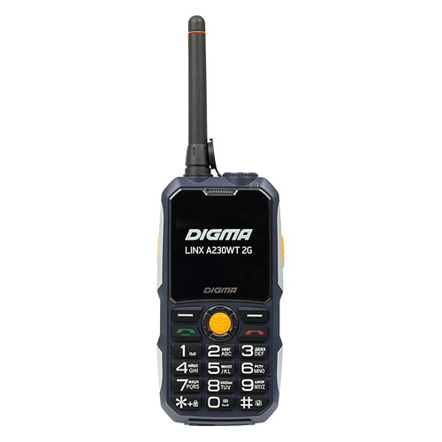 Мобильный телефон DIGMA Linx A230WT 2G, темно-синий digma linx a230wt 2g черный