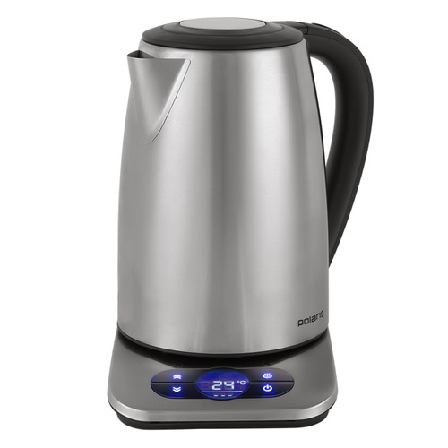 Чайник электрический POLARIS PWK 1788CAD, 2200Вт, серебристый чайник электрический polaris pwk 1864ca 1800вт серебристый