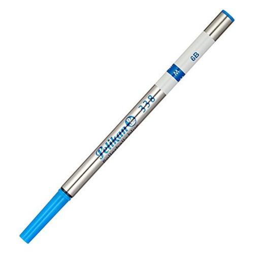 Стержень роллер Pelikan 338 F (PL908467) F 0.7мм синие чернила для ручек роллеров ручка роллер pelikan office twist standard r457 pl804202 сливовый неон m