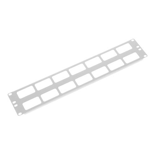 лучшая цена Кабельный органайзер Горизонтальный ЦМО (ГКО-О-2) двухсторонний окна 2U шир.:19