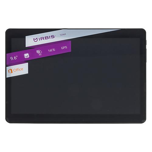 Планшет IRBIS TZ969, 1GB, 16GB, 3G, 4G, Android 7.0 черный планшет irbis tz856e 1gb 16gb 3g android 7 0 фиолетовый