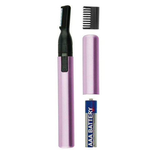 Триммер WAHL Micro Finish черный/фиолетовый, для женщин [5640-116] триммер для бровей женский