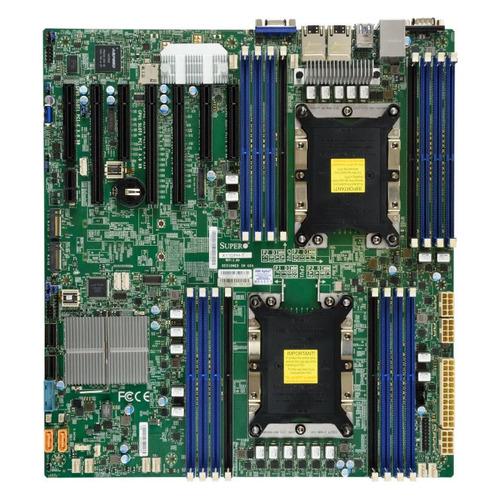 Серверная материнская плата SUPERMICRO MBD-X11DPH-I-O, Ret материнская плата supermicro mbd x11dpl i o