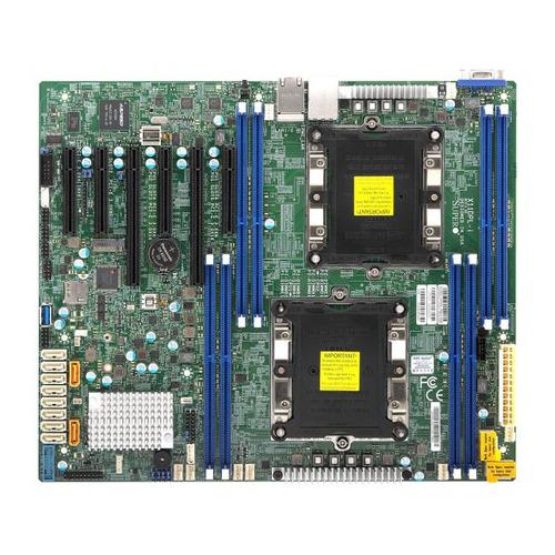 Серверная материнская плата SUPERMICRO MBD-X11DPL-I-O, Ret материнская плата supermicro mbd x11dpl i o